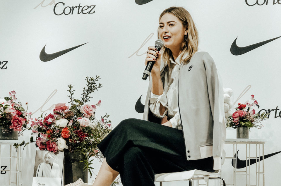 Maria Sharapova: Nike LA Cortez Launch